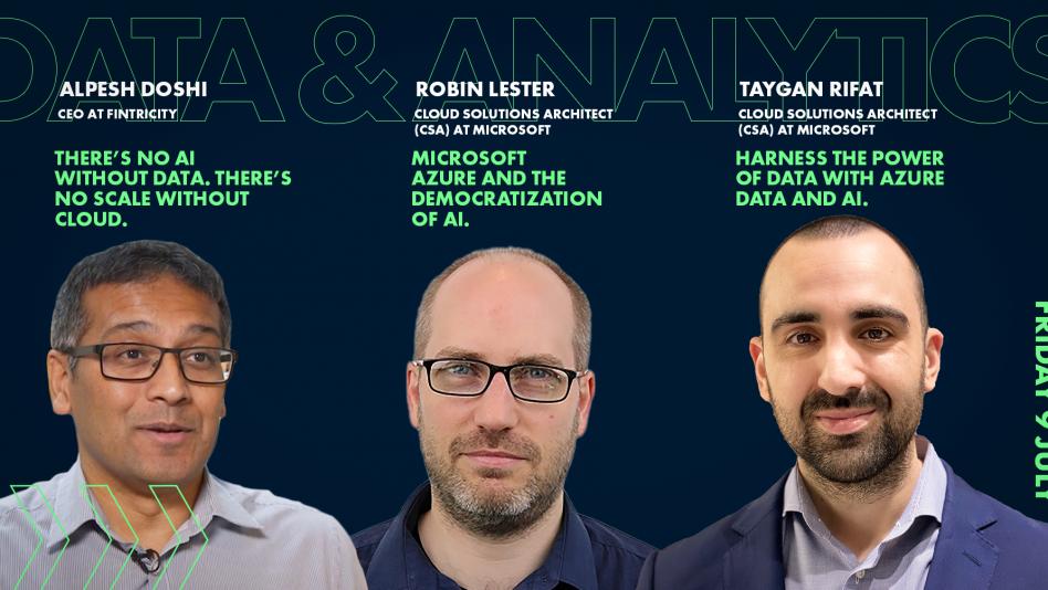 Innovation Exchange IX Event - Data & Analytics - Microsoft - Fintricity